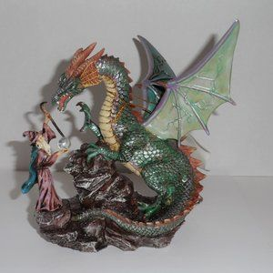 Other - NWT DIS-Vintage Medieval Enchantment-Merlin/Dragon